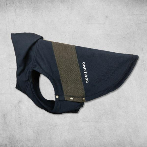 Navy/Grey Chevron Hoodie for Bulldogs