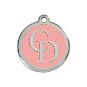CatwalkDog Pink Collar Tag