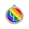 CatwalkDog Rainbow Collar Tag